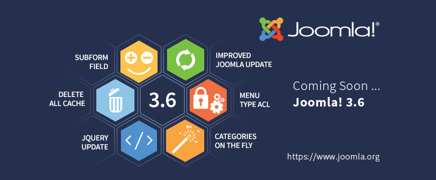 joomla 3 6 coming soon